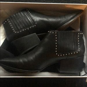 Givenchy black studded booties size 39 LIKE NEW
